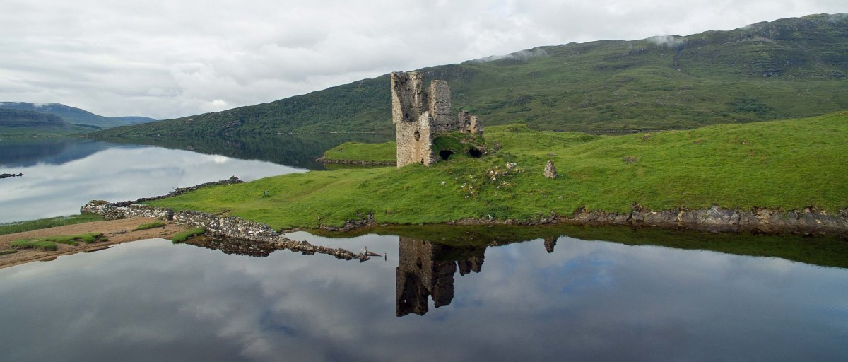 Castle Ardvreck (Highlands, Scotland)