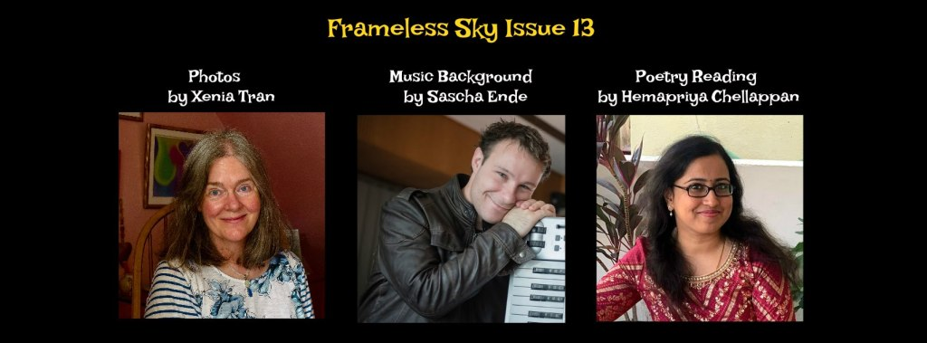 Portraits of Frameless Sky Issue 13 Contributors
